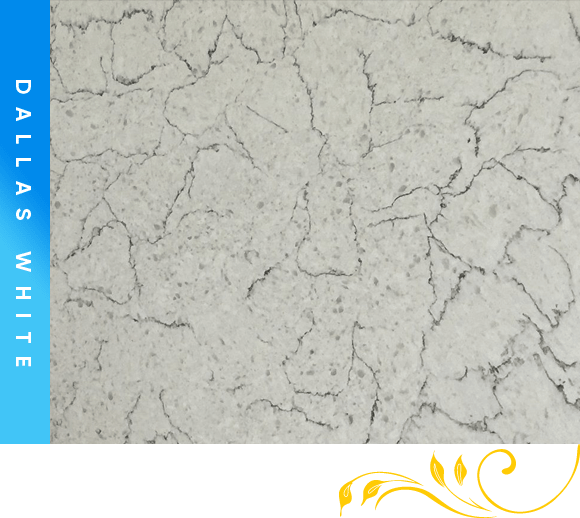 Dallas White Quartz Counter Top