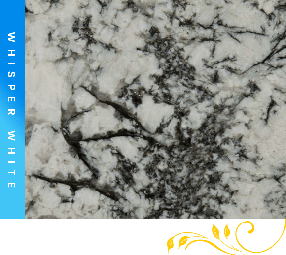 Whisper White Granite Counter Top Cabinet Outlet